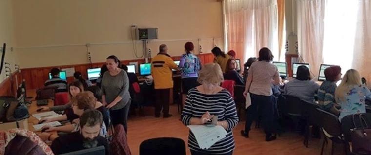 Sala in care s-a desfasurat vizita la CSEI Suceava din cadrul proiectului DEDICAT